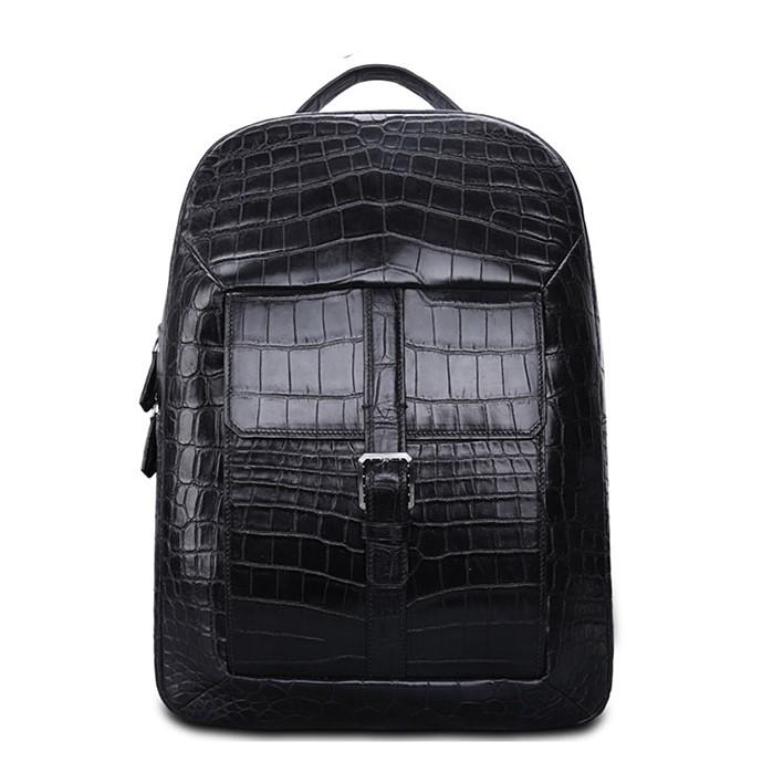 Alligator Skin Commuter Backpack
