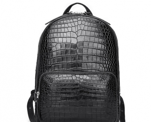 Alligator Skin School Backpack