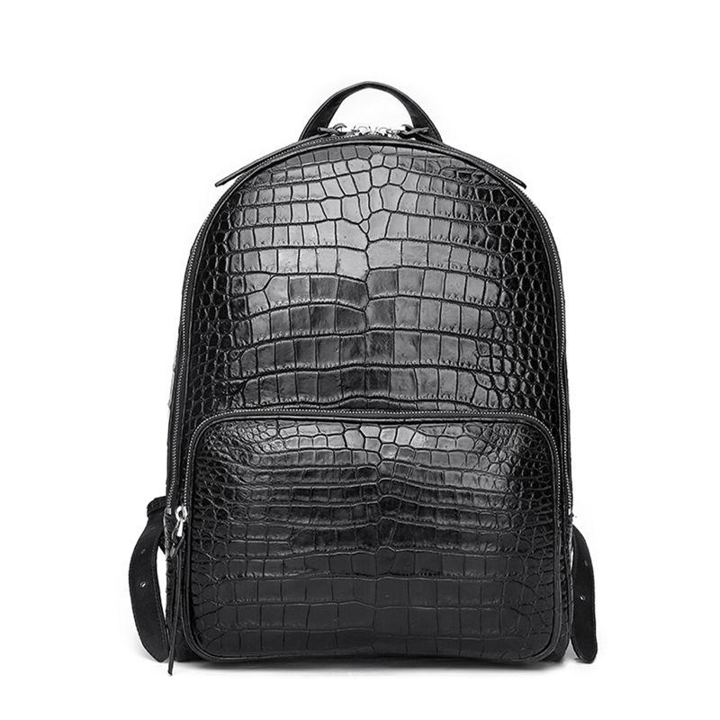 Alligator Skin School Backpack