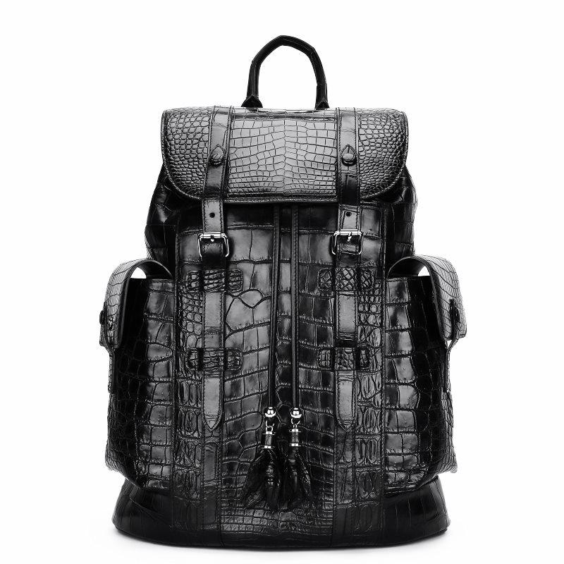 Alligator Skin Travel Backpack