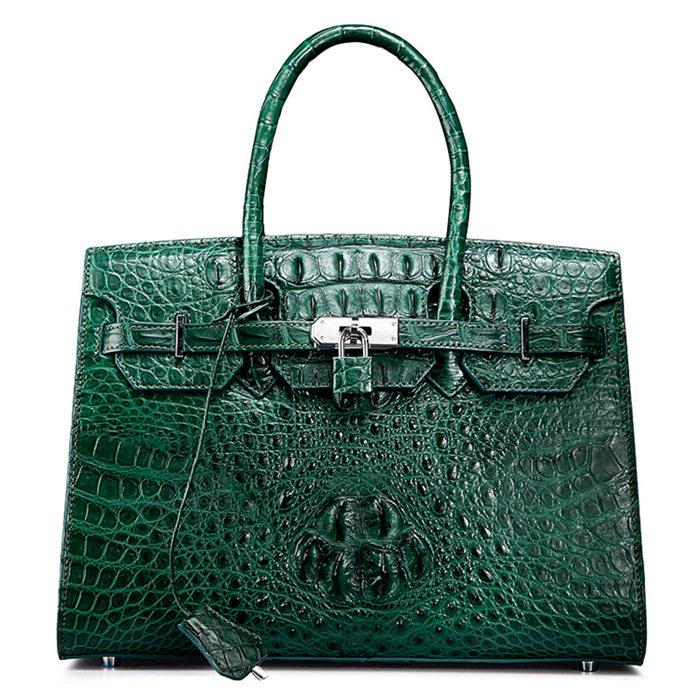Genuine Crocodile Handbag