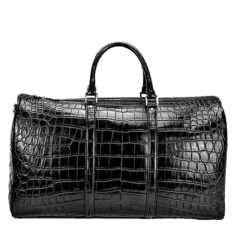 Alligator Skin Duffle Bag