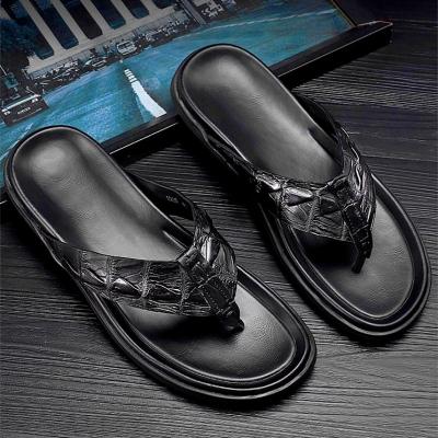 Men's Alligator Flip Flop Sandals