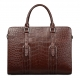 Alligator Leather Laptop Bag Briefcase
