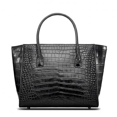 Alligator Top Handle Handbag Tote Bag