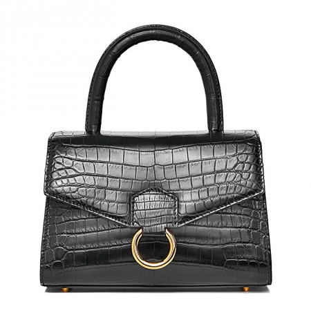 Designer Fashion Alligator Top Handle Bag Shoulder Bag