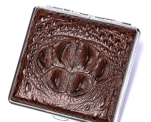 Crocodile Cigarette Case