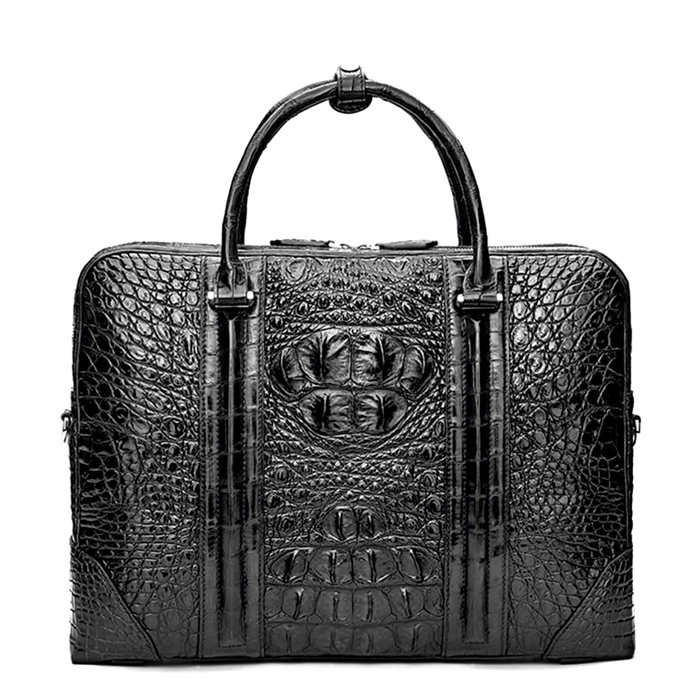 Crocodile Leather Briefcase Laptop Bag Business Bag