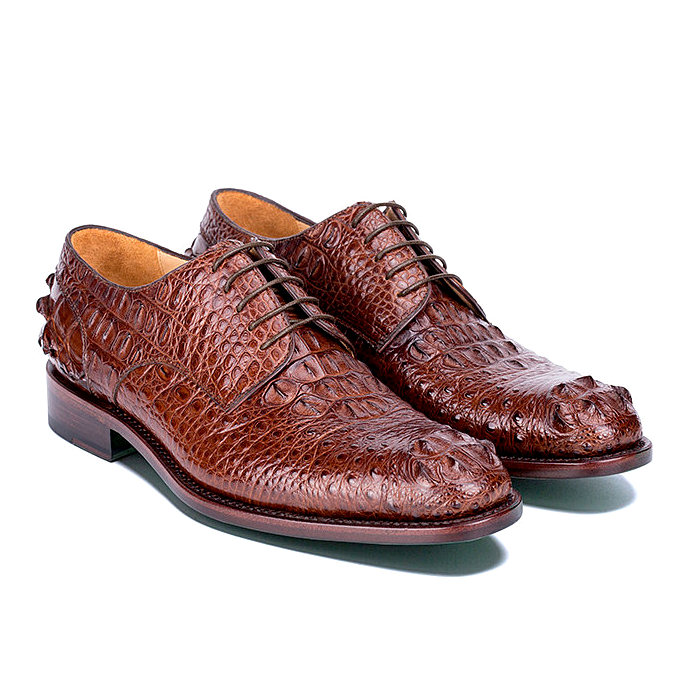 Crocodile Leather Derby