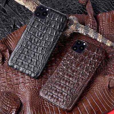 Crocodile & Alligator Leather Snap-on Cases for iPhone-Crocodile Backbone Skin