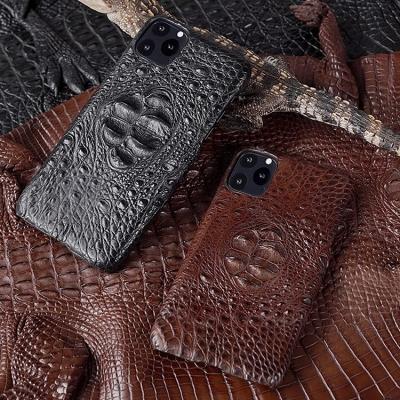 Crocodile & Alligator Leather Snap-on Cases for iPhone-Crocodile Hornback Skin