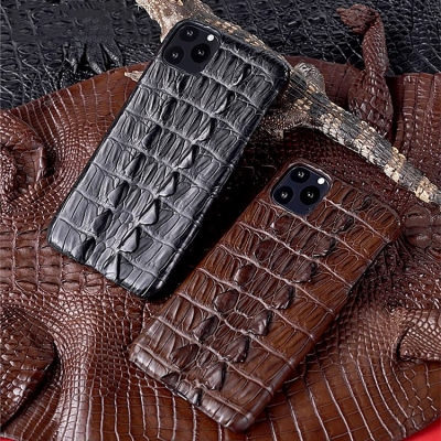 Crocodile & Alligator Leather Snap-on Cases for iPhone-Crocodile Tail Skin