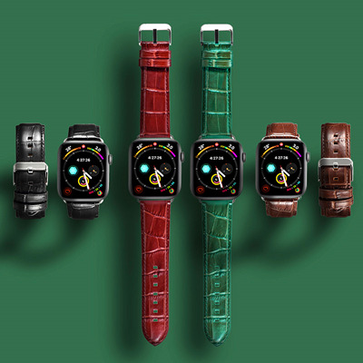 Alligator Watch Bands for Apple Watch
