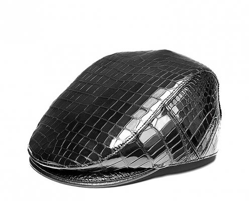 Men's Must-have Style Essentials-Alligator Ascot Cap