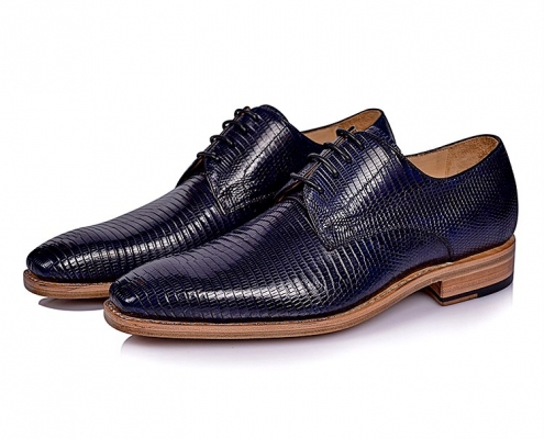 Exotic Leather Shoes - Lizard Skin Shoes for Men