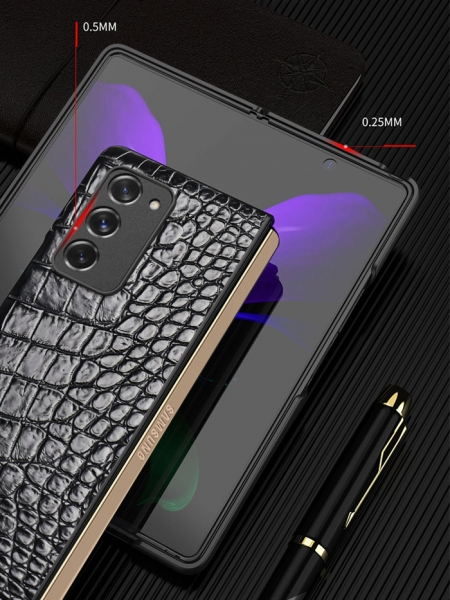 Crocodile Samsung Galaxy Z Fold2 5G Cases