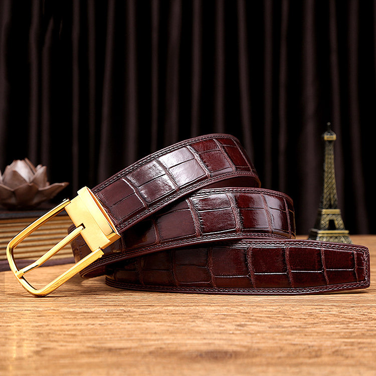 Alligator Belts Can Make You Stand Out From The Crowd