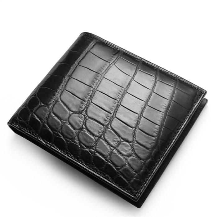 BRUCEGAO Alligator Wallet for Men