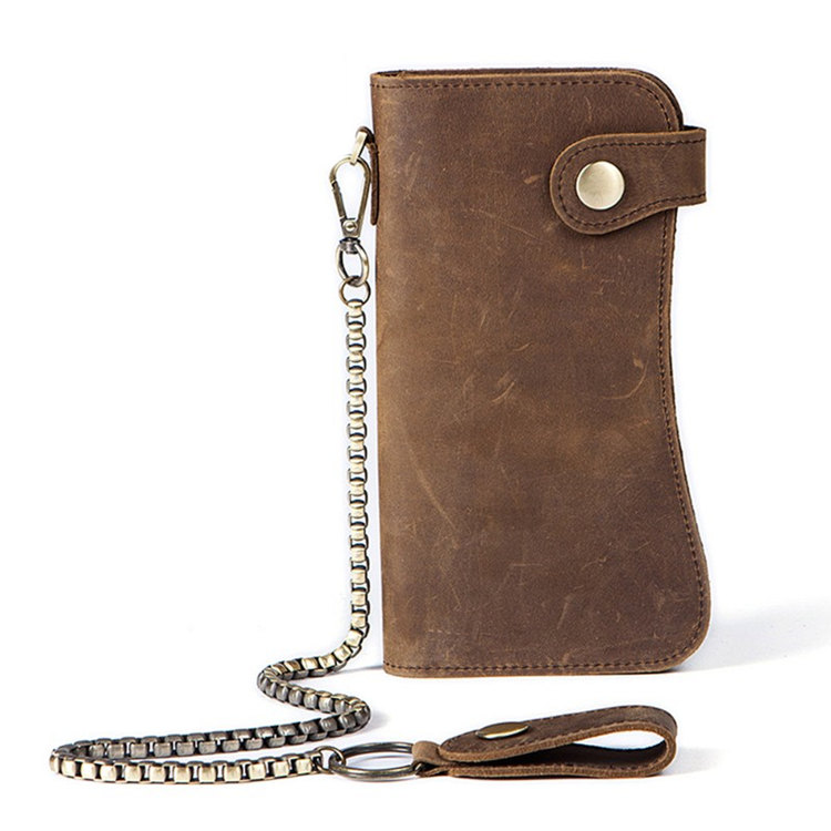 Different Types of Men's Wallets - Chain Wallet