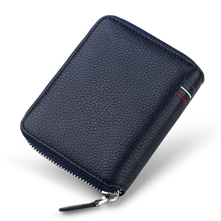 Different Types of Men's Wallets - Zipper Wallet