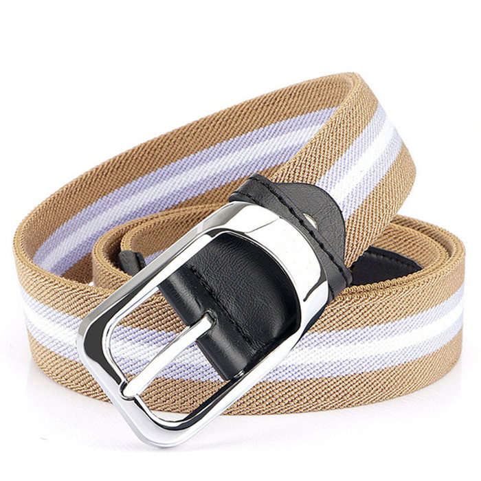 Stripped design belts