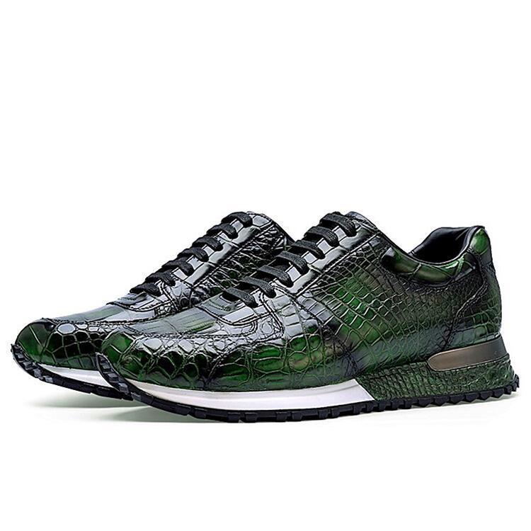 Alligator Sneakers Walking Shoes for Men