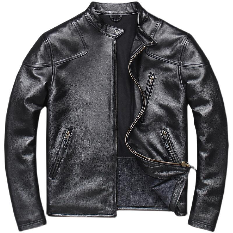 Leather jacket can provide comfort