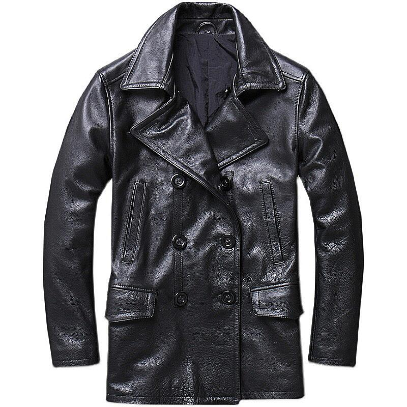 Leather jackets are available in many colors and sizes