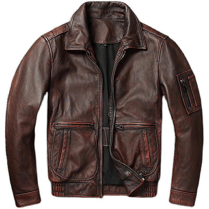 Leather jackets are easy to maintain