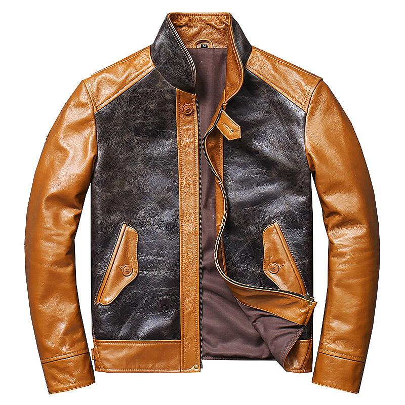 Leather jackets are fashionable