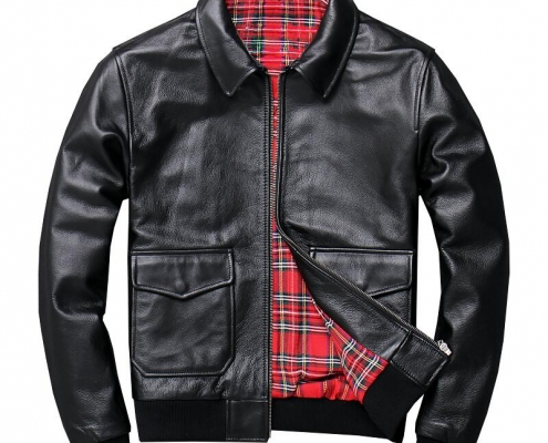 Leather jackets have timeless value