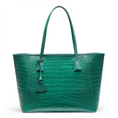 Alligator Tote Shoulder Bags Travel Tassel Handbags Laptop Bags